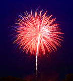 The July 4th fireworks stock photos