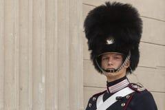 Free July 9 2018 -Royal Life Guard In Front Of Amalienborg Palace, Copenhagen, Denmark, Europe Stock Photo - 138316770