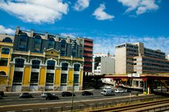 `24 July Avenue`. Lisbon - Portugal stock photos