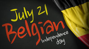 July 21 Belgian Independence Day Royalty Free Stock Photos