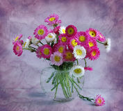 July bouquet stock photo