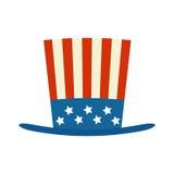 4 of July celebration hat icon Royalty Free Stock Photography