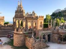 22 July 2017 - `Colomares Castle` Benalmadena, Cadiz, Spain Royalty Free Stock Images