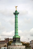 July column at Place de la Bastille in Paris, France Royalty Free Stock Image