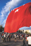 July 15 Coup Attempt Protests in Istanbul Stock Image