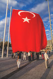 July 15 Coup Attempt Protests in Istanbul Stock Photography