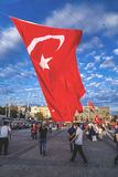 July 15 Coup Attempt Protests in Istanbul Stock Images