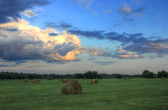 July evening, Russia Royalty Free Stock Photo