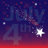 July fourth celebration Stock Images