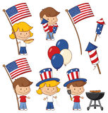 July Fourth Fun Stock Image