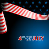 July fourth, independence day. Royalty Free Stock Photos