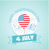 4 july  Fourth of July Stock Photography