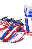 July fourth utensils Stock Images