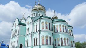 July 20, 2016. Holy Ascension Monastery in Bancheny Ukraine. July 20, 2016 Holy Ascension Monastery in Bancheny stock video