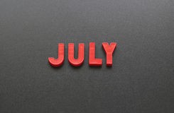 July Stock Photography
