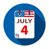 4 July Independence day Royalty Free Stock Photography