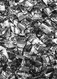 July8, 2018, Kolkata,India. A bunch of Swad Candy stacked together for sale during day time. Swad candies are vintage from ninetie stock image
