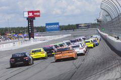 NASCAR: July 29 Gander Outdoors 400 royalty free stock photos