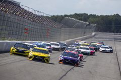 NASCAR: July 29 Gander Outdoors 400 stock photos