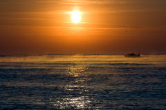 July Morning Sunrise Royalty Free Stock Photography