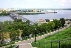 July in Nizhny Novgorod Royalty Free Stock Image