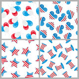 4th of july patterns stock photos