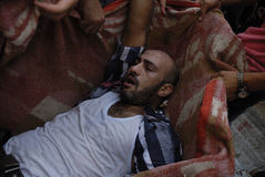 July 27 Rabaa el-Adawya Massacre Stock Photos