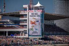July 26, 2015. Red Bull Flugtag. Before the competition starts. Royalty Free Stock Photo
