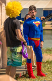 July 26, 2015. Red Bull Flugtag. Before the competition starts. Stock Photography