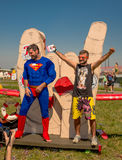 July 26, 2015. Red Bull Flugtag. Before the competition starts. Royalty Free Stock Photography