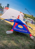 July 26, 2015. Red Bull Flugtag. Before the competition starts. Before the start only a few minutes. The weather was excellent, clear. Launch pad ready Royalty Free Stock Images