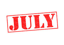 JULY Stock Photo