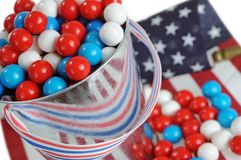 July 4th candy royalty free stock photo