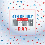 July 4th celebration background. Vector Royalty Free Stock Photos