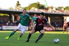 League of Ireland Premier Division match: Cork City FC vs Bohemian FC. July 5th, 2019, Cork, Ireland - League of Ireland Premier Division match: Cork City FC vs royalty free stock image