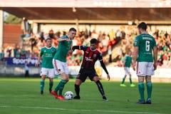 League of Ireland Premier Division match: Cork City FC vs Bohemian FC. July 5th, 2019, Cork, Ireland - League of Ireland Premier Division match: Cork City FC vs stock photos