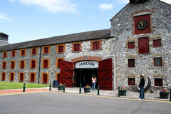 July 28th, 2011, Distillers Walk, Midleton, Co Cork, Ireland - Jameson Experience Royalty Free Stock Image