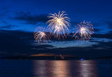 July 4-th Fireworks Royalty Free Stock Images