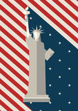 July 4 th, Independence Day, Statue of Liberty USA Stock Image