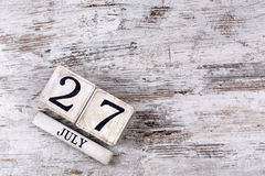 July 27th Stock Photos