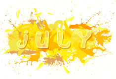 July. Royalty Free Stock Photos
