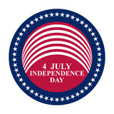 July 4 US Independence Day Royalty Free Stock Photos