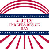 July 4 US Independence Day Stock Photography