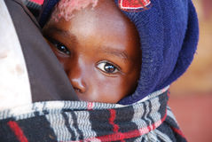 July 30, 2014-Village Pomerini-Tanzania-Africa-Moments of everyd Royalty Free Stock Photo