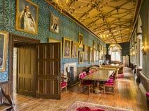 Wells Bishops Palace stock image