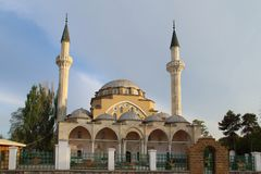 Juma Jami Mosque in Evpatoria town, Crimea Stock Photo