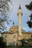 Juma Jami Mosque in Evpatoria town, Crimea. The Juma-Jami Mosque, also known as the Friday Mosque, built between 1552 and 1564, and designed by the famous royalty free stock images