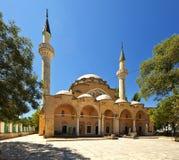 Juma-Jami Mosque. Yevpatoria. Crimea. View of old Juma-Jami Mosque. Yevpatoria. Crimea royalty free stock photos