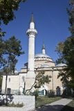 Juma Khan Jami mosque in Eupatoria. Famous medieval mosque builded by architect Sinan in 1564 Royalty Free Stock Photography