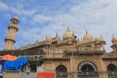 Juma Masjid mosque Mumbai India. Juma Masjid mosque in Mumbai India stock image